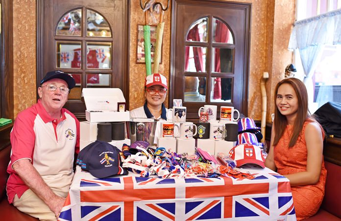 The poppy appeal stall is open for business.