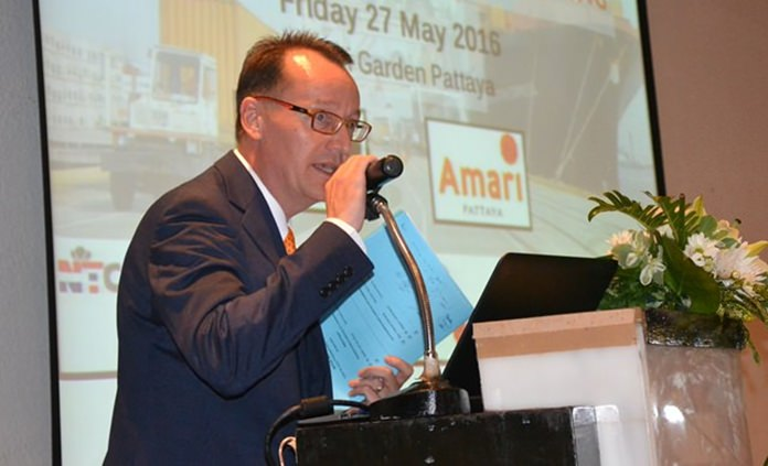 Hans van den Born, Executive Director of Netherlands – Thai Chamber of Commerce (NTCC).