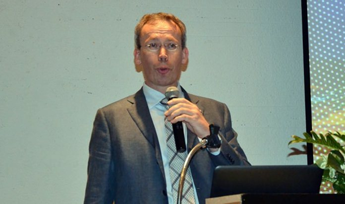 Sander Van der Linden, Plant Director for Corbion Purac Thailand.