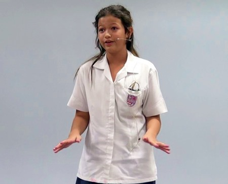 Megan Davies (Year 7).