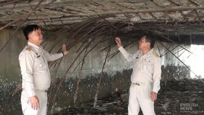 The concrete bridge linking Sriracha mainland with Koh Loi Island will be closed for two years for major repairs after it was found to be in poor and unsafe condition.