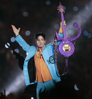 In this Feb. 4, 2007, file photo, Prince performs during halftime of the Super Bowl XLI football game in Miami. A Minnesota judge overseeing the legal proceedings surrounding Prince's estate said Monday, June 27, there will be no quick decisions on who should be allowed to inherit from the late megastar. (AP Photo/Chris O'Meara)