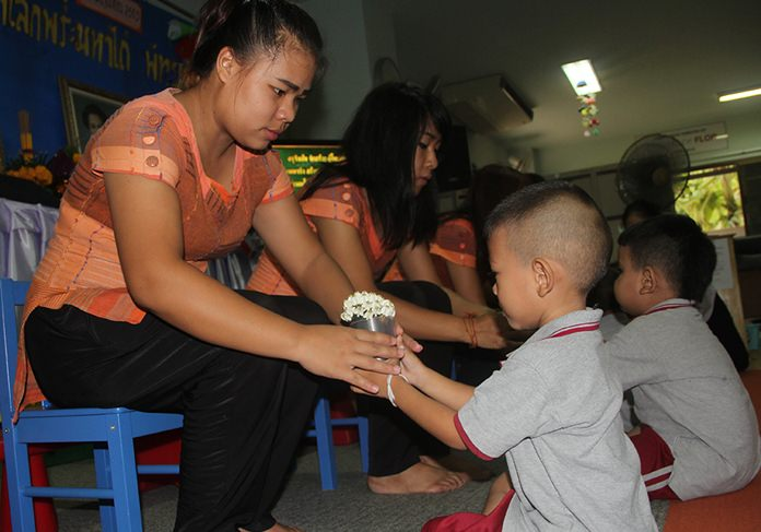 Wai Khru at the Father Ray Day Care Center.