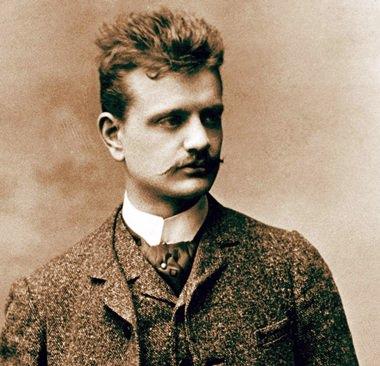 Sibelius in Vienna, late 1880.