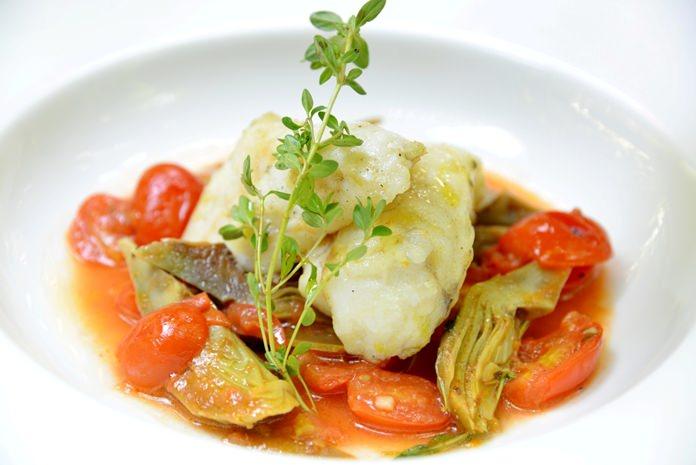 Monkfish on the menu at Acqua.