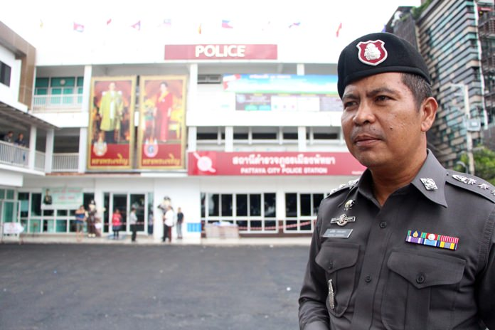 Pattaya's new police chief Pol. Col. Apichai Krobpetch has pledged to fund renovation of the Soi 9 headquarters parking lot and other facilities out of his own pocket.