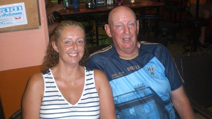 Birthday Boy Seamus Farrell with daughter Avril.