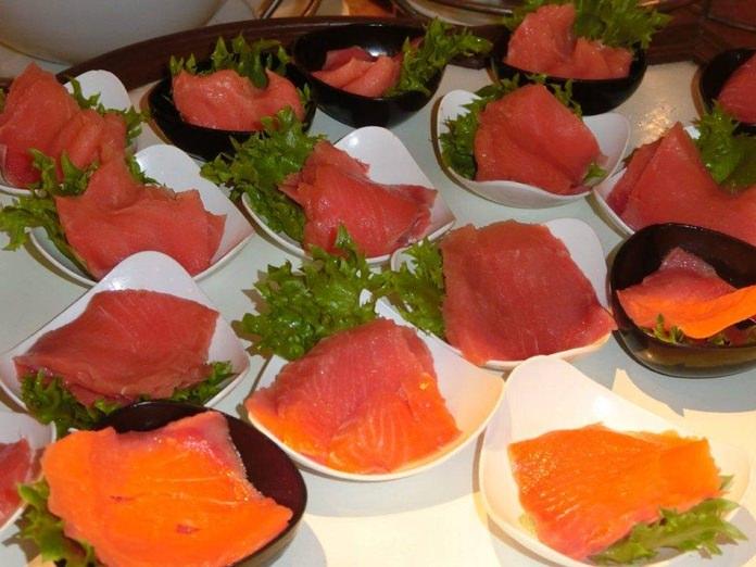 Beautiful salmon. (pic by Marisa Corness)