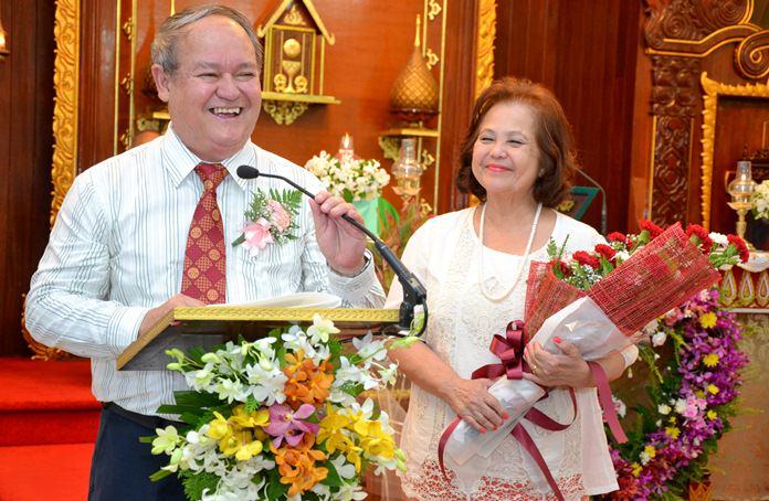 Prem in his element speaks of 50 years of marital bliss.