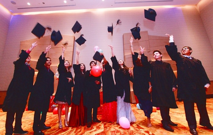 IB graduates celebrated recently with a dinner at the 5-star Movenpick Siam Hotel in Pattaya.