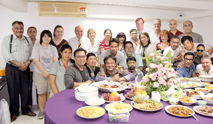 The Pattaya Mail family gather for a magical 23rd anniversary celebration.