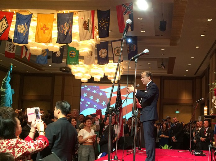 Opening speech by the Ambassador.