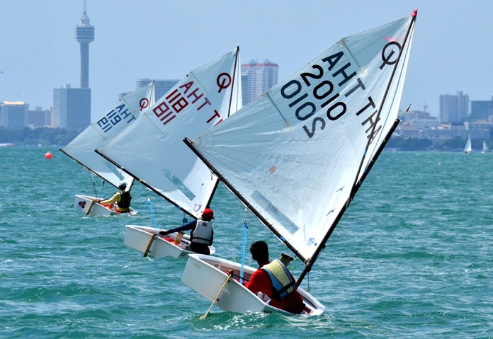 Young sailors from 60 counties worldwide will be competing in Pattaya at the Optimist World Championship 2017.