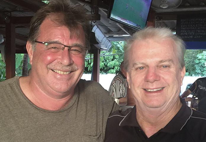 Bob Mattes and Sel Wegner.