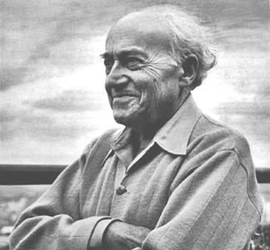 Composer Ernest Bloch.