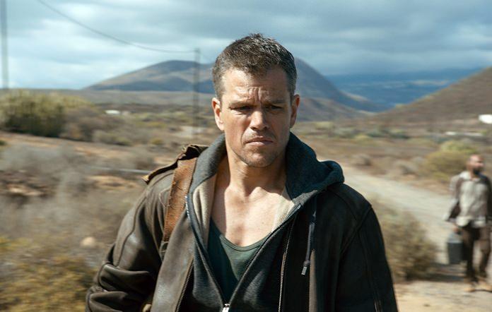 "Matt Damon is shown in a scene from ""Jason Bourne."" (Universal Pictures via AP)"