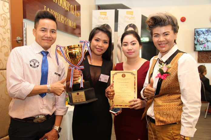 The day's top winner was Khay Bounkeuth from Juthamas Beauty School.