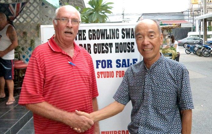 Mashi Kaneta (right) & John Anderson.