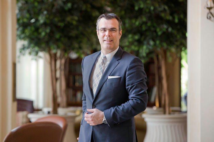 Olivier Chavy, the new CEO of Mövenpick Hotels & Resorts.