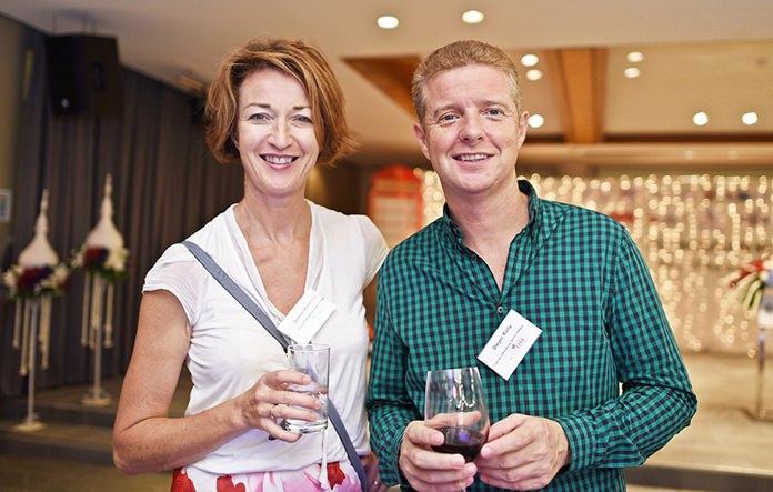 Joanna Kearny, Director of Admissions & Marketing, and Dwyer Kelly, Director of Finance at the Regents International School Pattaya.