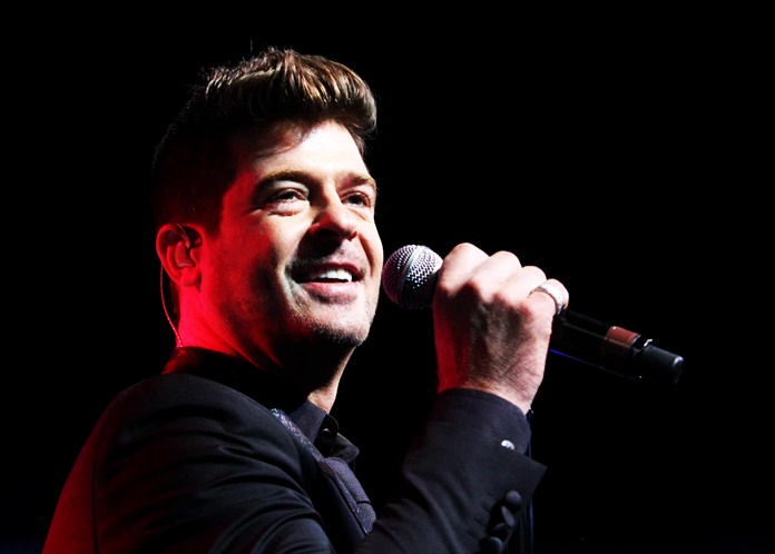 Robin Thicke. (Photo by Robb D. Cohen/Invision/AP)