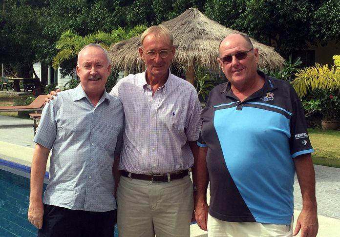 Stuart Banks, Willem Lasonder and Stan.