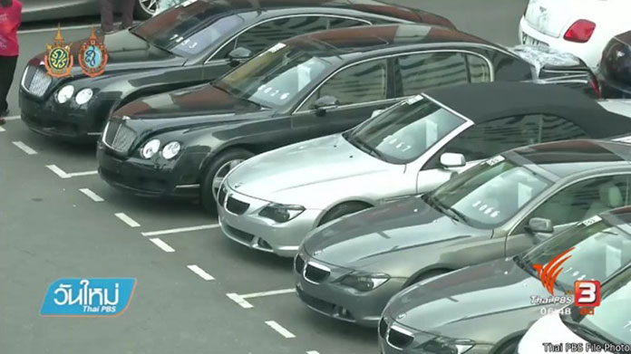 Importers told to remove luxury cars from tax-free zones in 90 days