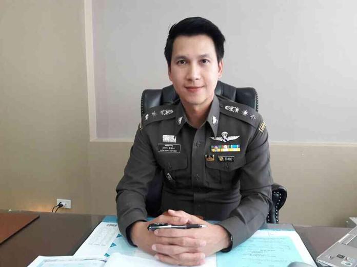 Pol. Col. Katatorn Khamtieng, Chonburi Immigration chief.