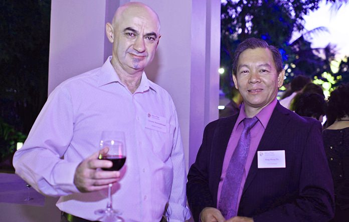 Ilya Roitman, CEO at the Infinity IT Success Ltd., and Hong-Phong Pho from the US. Department of Commerce – International Trade Administration.