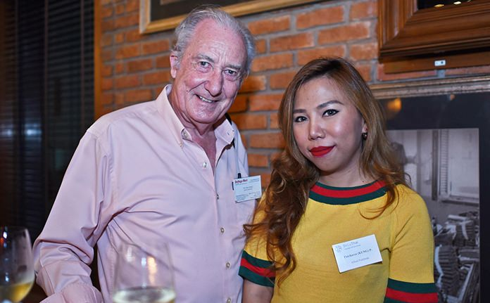 Dr. Iain Corness chats to Patcharee Phanoiwong, business development manager at Allied Pickfords Thailand.