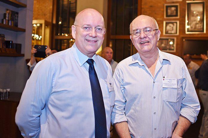 Graham Macdonald MBE, chairman of the SATCC and Stephen Frost, Director, Bangkok International Associates.