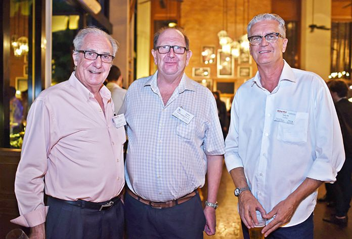 Dr. Iain Corness, Paul Whyte, Managing Director of Automator (Thailand) Ltd., and Joachim K.P. Klemm, international business and marketing at Green Orange Property Thailand.