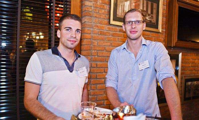 Heiko Landauer, country manager at Balluff (Thailand) Limited, and Phillip Ende, associate partner at Rodl & Partner Management Services Ltd.