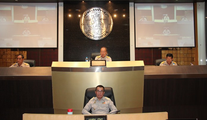 Once again a proposal was brought to the Pattaya City Council to develop and improve facilities at Bali Hai Pier.