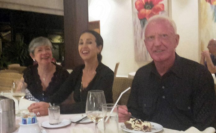 (From left) Ivy Schlageter-Lam, Anselma and Gerrit Niehaus.