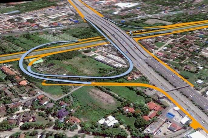 Srirach-Outer Ring Expressway not popular among road users