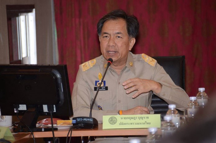 Permanent Secretary for Interior Krisada Boonrach.
