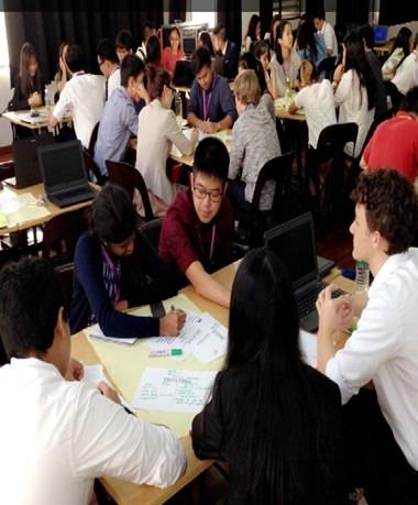 Lots of group work helped students improve their leadership skills.