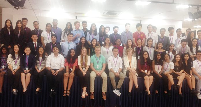 More than 60 students from 15 British international schools attended the FOBISIA conference.