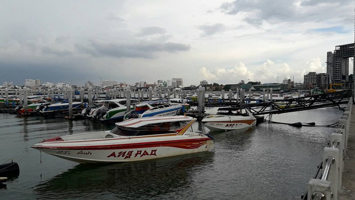 Many operators said they will refuse to anchor their boats in the designated marina area for long periods, saying the temporary docking berths left their boats vulnerable to damage from storms and strong currents.