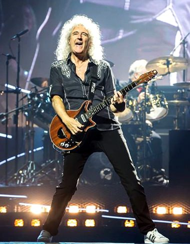 Brian May, 69 years young and still rockin' with the best.