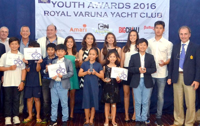 Royal Varuna Yacht Club in Pattaya celebrated the achievements of its junior sailors at a special awards evening held Oct. 1.
