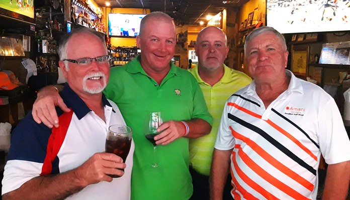 Dave Ferris with John Emmerson, Dale Shier and Butch Furneaux.