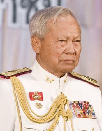 Privy Council President Prem Tinsulanonda. (Photo via Wikipedia).