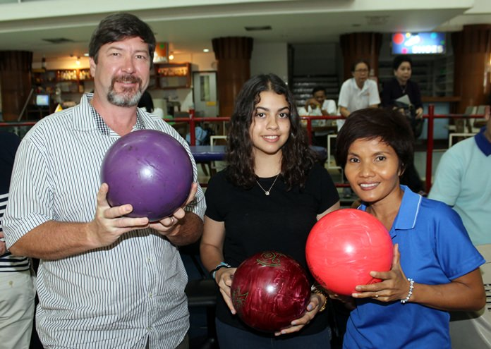Bowlers turned out in large numbers to support the event.