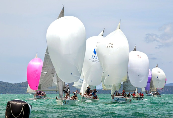 The Top of the Gulf Regatta was the only sailing event to garner recognition at the recent Asian Sports Industry Awards 2016. (Photo/Guy Nowell)