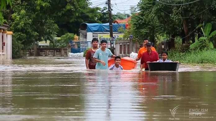 Floods remain critical in several downstream provinces in Central Region