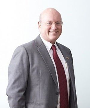 Graham Macdonald, MBE.