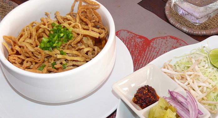 The famous Chiang Mai Khao Soi.