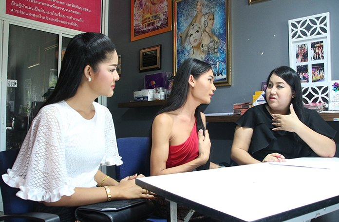"""Filmmakers, working on a project called """"Transgender Recognition in Thailand"""", interviewed Foundation Director Tithiyanat Nakpoh; Mimi Tao, a transgender model; Thongtha Janroenjai, a local transgender teacher; and many others."""
